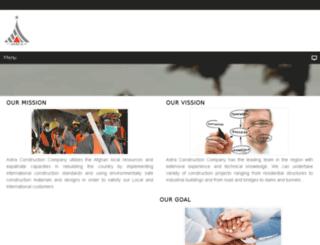 astra.com.af screenshot