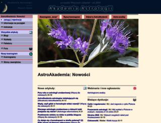 astroakademia.pl screenshot