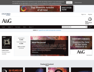 astrogeo.oxfordjournals.org screenshot