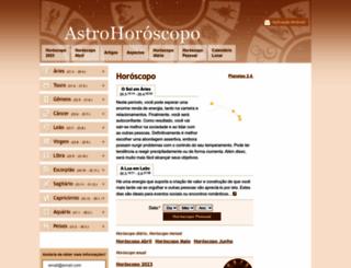 astrohoroscopo.net screenshot
