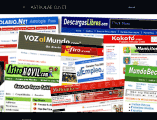 astrolabio.net screenshot