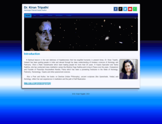 astrologerkiran.com screenshot
