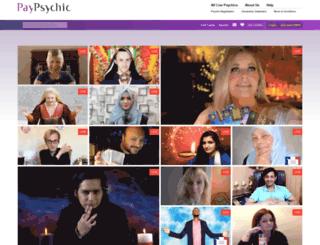 astrologyau.paypsychic.com screenshot
