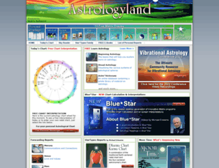 astrologyland.com screenshot