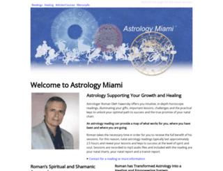 astrologymiami.com screenshot