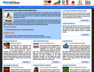 astromitra.com screenshot