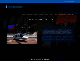 astronautics.com screenshot