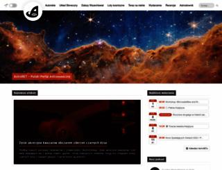 astronet.pl screenshot