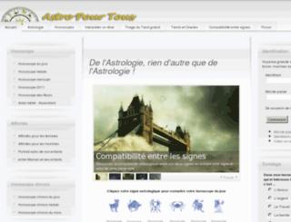 astropourtous.fr screenshot