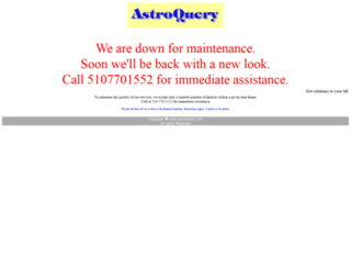 astroquery.com screenshot