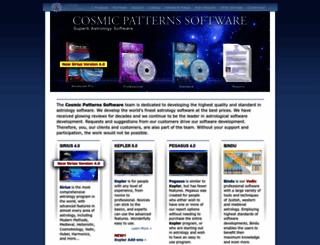 astrosoftware.com screenshot