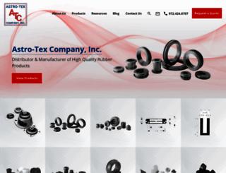 astrotex.com screenshot