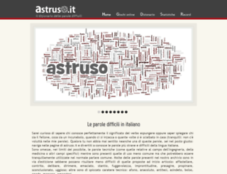 astruso.it screenshot