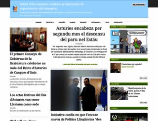 asturies.com screenshot