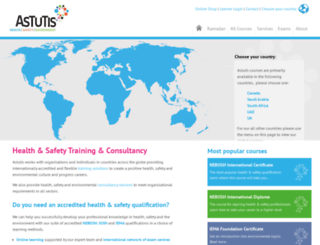 astutisinternational.com screenshot