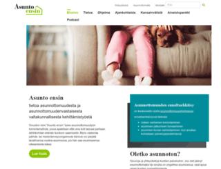 asuntoensin.fi screenshot