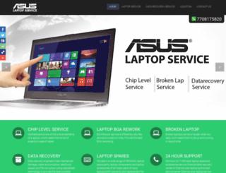 asuslaptopservice.com screenshot