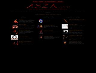 asza.com screenshot