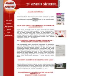 atakoygazete.com.tr screenshot