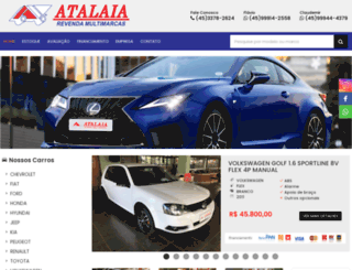 atalaiamultimarcas.com screenshot