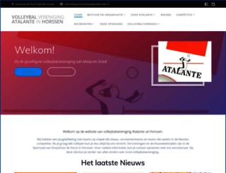 atalantehorssen.nl screenshot