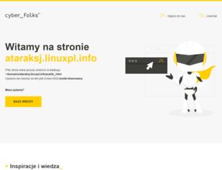 ataraksj.linuxpl.info screenshot