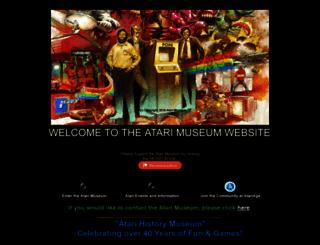 atarimuseum.com screenshot