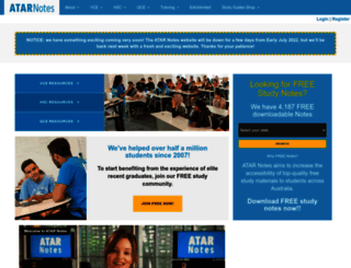 atarnotes.com screenshot