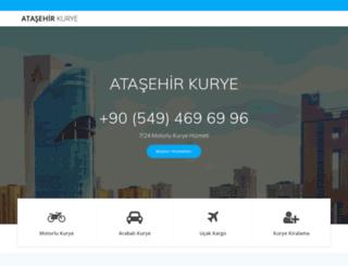 atasehirkurye1.com screenshot