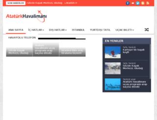 ataturkhavalimani.net screenshot