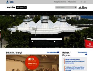 ataturkkitapligi.ibb.gov.tr screenshot