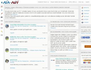 ataturkuni.net screenshot