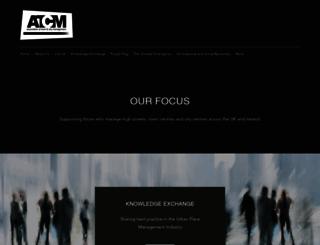 atcm.org screenshot