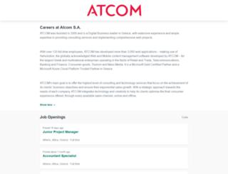 atcom.workable.com screenshot