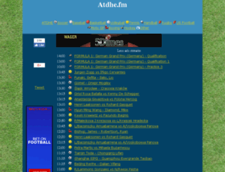 atdhe.fm screenshot