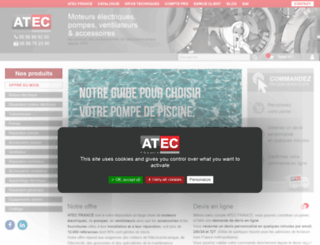 atecfrance.fr screenshot
