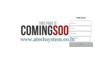 atechsystem.co.in screenshot