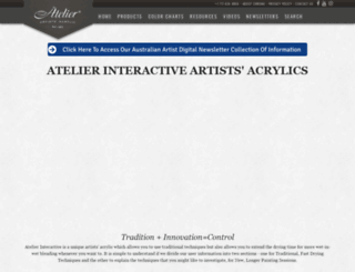 atelieracrylic.com screenshot