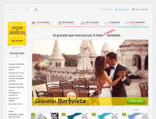 atelierdasgravatas.com.br screenshot