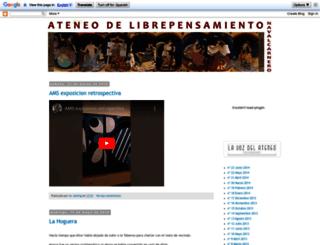 ateneonavalcarnero.blogspot.com.es screenshot