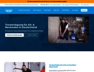 atg-mauerwerks-trockenlegung.de screenshot