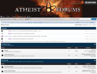 atheistforums.org screenshot