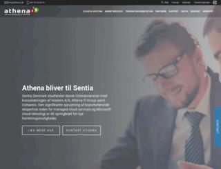 athena.dk screenshot