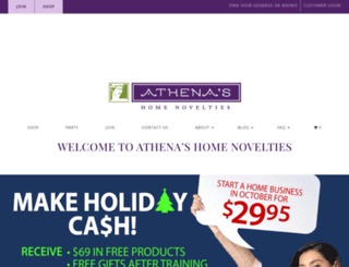 athenashn.com screenshot