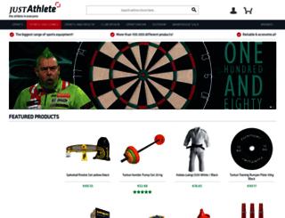 athleteshop.com screenshot