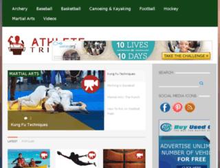 athletetribune.com screenshot