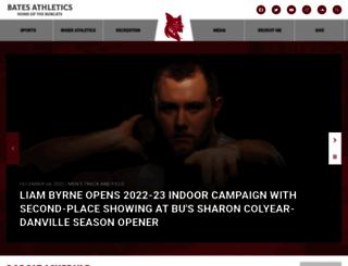 athletics.bates.edu screenshot