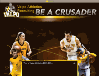 athletics.valpo.edu screenshot