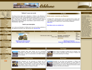 athlone.co.za screenshot
