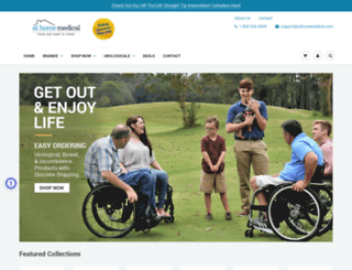 athomemedical.com screenshot